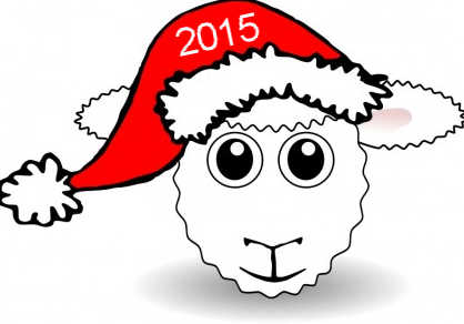 Веселые поздравления коллег с новым годом