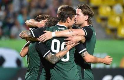 Ответный матч Лиги Европы ХИК-Краснодар 0:0